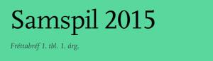 Fréttabréf Samspil 2015 marsmánuður
