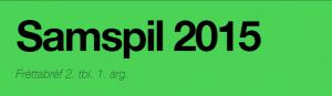 Fréttabréf Samspil 2015 aprílmánuður