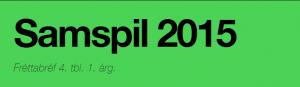 Fráttabréf Samspil 2015 ágústmánuður